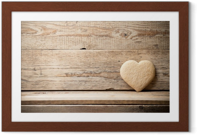 Póster Enmarcado Corazón