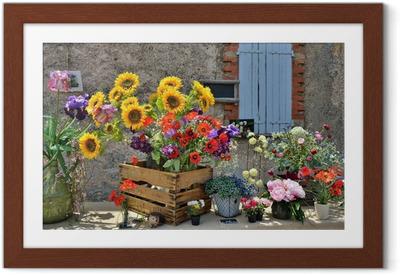 Ingelijste Poster Provence, Frankrijk