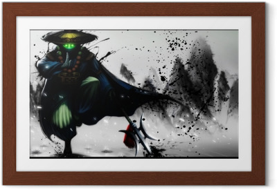 Poster en cadre Jax - League of Legends