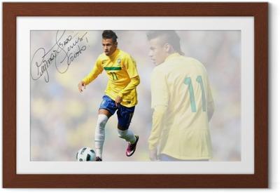 Poster en cadre Neymar - Neymar