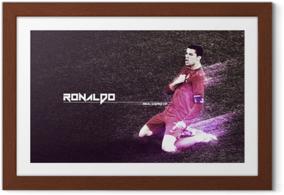 Cristiano Ronaldo Kehystetty juliste