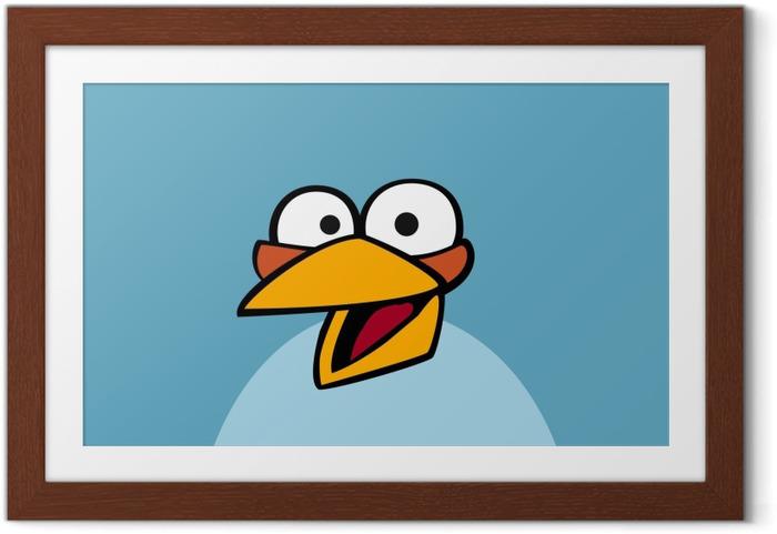 Ingelijste Poster Angry Birds - Thema's