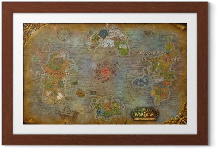 Poster en cadre World of Warcraft - Thèmes