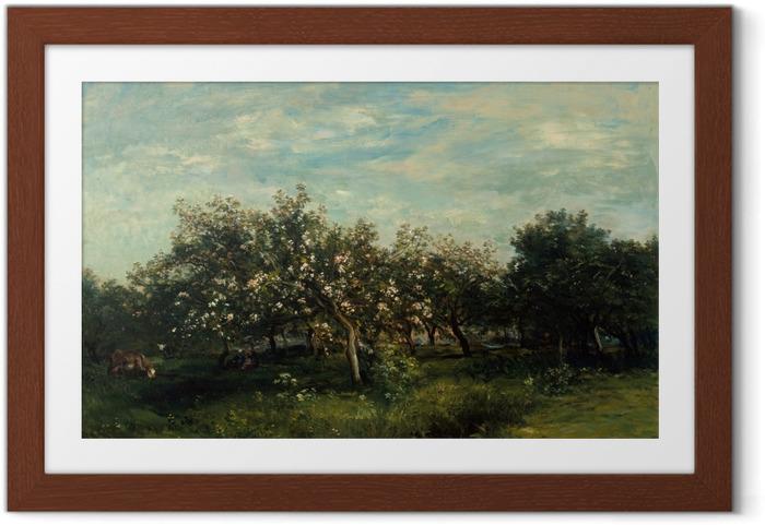 Póster Enmarcado Apple Blossoms - Impresionismo