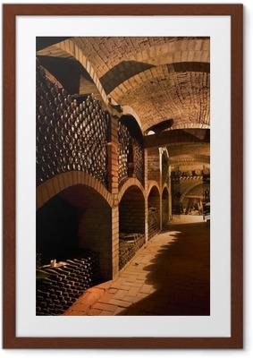 winecellar Framed Poster