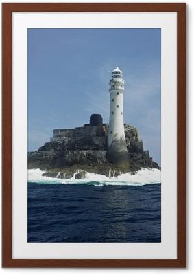 Poster en cadre Phare, Fastnet Rock, comté de Cork, en Irlande