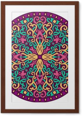 mandala Framed Poster