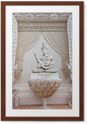 Poster en cadre Thai statue ange - Asie