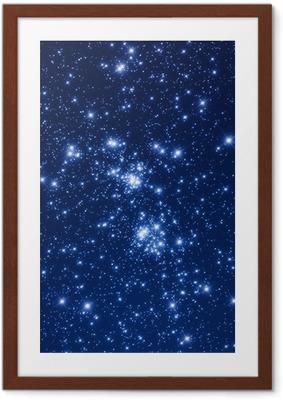 Plakat w ramie Gromada gwiazd