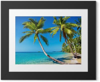 Poster en cadre Tropical beach, Thailand.