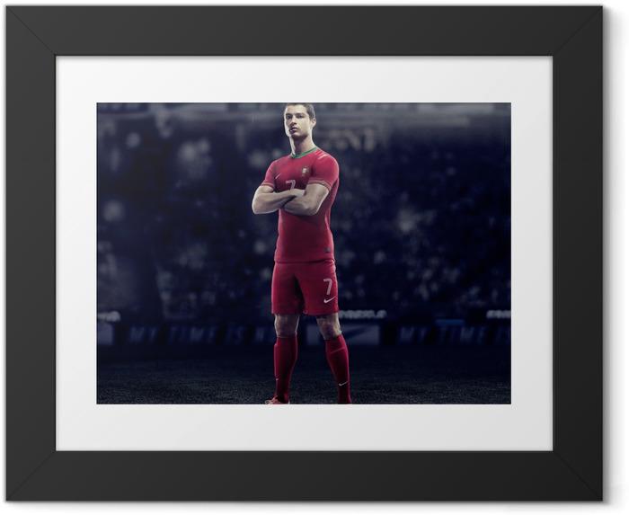 Póster Enmarcado Cristiano Ronaldo - Cristiano Ronaldo