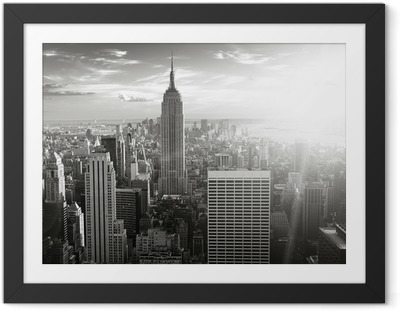Póster Enmarcado Skyline new york