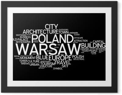 Warsaw Framed Poster