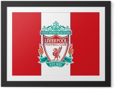 Poster en cadre Liverpool F.C.
