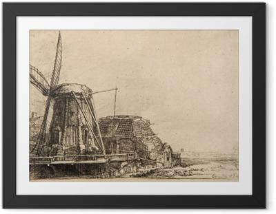 Rembrandt - The Mill Framed Poster