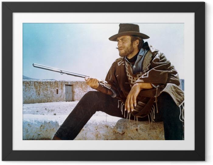 Ingelijste Poster Clint Eastwood - Criteo