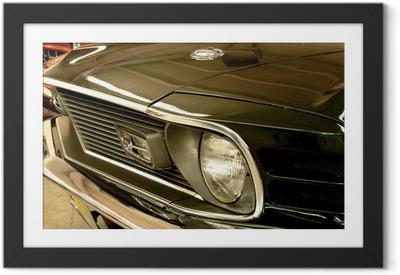 Poster en cadre Mustang