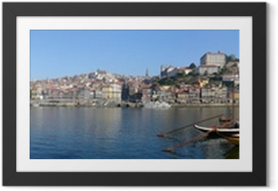 Innrammet plakat Porto.