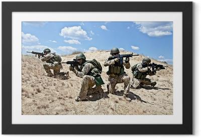 Ingelijste Poster Militaire operatie