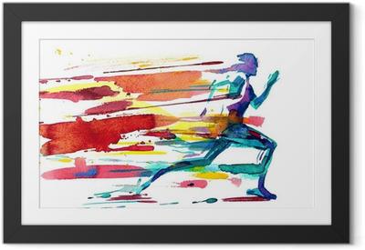 motion Framed Poster