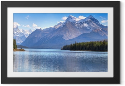 Gerahmtes Poster Maligne Lake