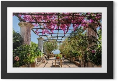 Poster en cadre Costiera Amalfitana, fioritura - Paysages urbains