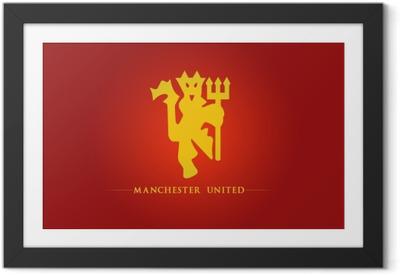 Poster en cadre Manchester United - Thèmes