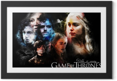 Poster i Ram Game of Thrones