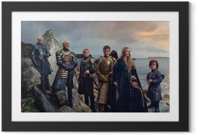 Ingelijste Poster Game of Thrones