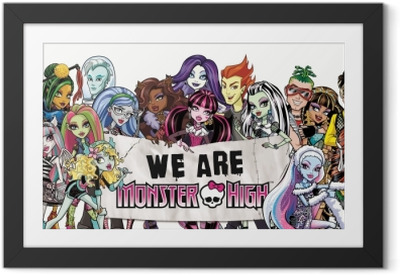 Poster in Cornice Monster High