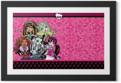 Gerahmtes Poster Monster High