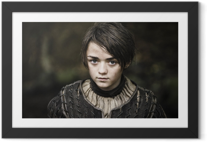 Arya Stark Indrammet plakat -