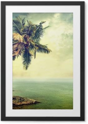 Poster en cadre Île tropicale - Thèmes