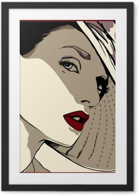 Poster en cadre Look féminin