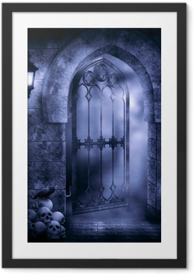Gothic Fantasy Framed Poster