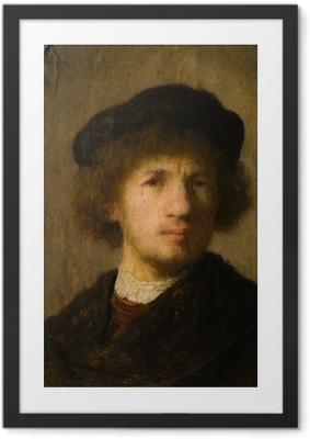 Rembrandt - Self-Portrait Framed Poster