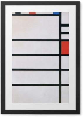 Piet Mondrian - Trafalgar Square Framed Poster
