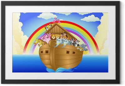 Ingelijste Poster Noah ark
