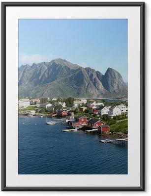 Plakat w ramie Kabiny rouges w Norvège