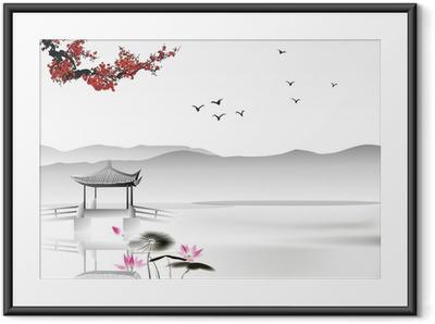 Poster en cadre Peinture chinoise