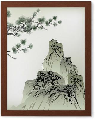 Kinesisk målning