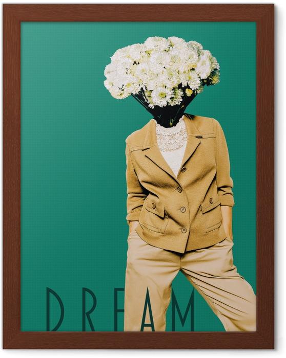 Obrazek w ramie Dream - Motywacyjne