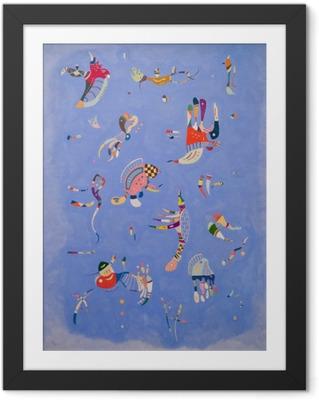 Fotografia com Moldura Wassily Kandinsky - Céu azul