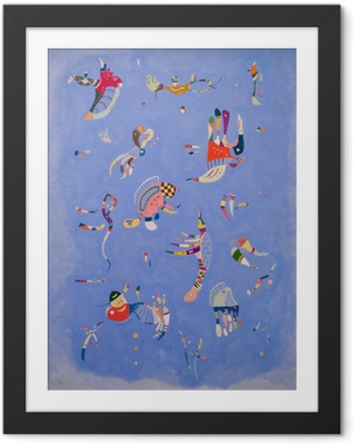 Innrammet bilde Vasilij Kandinskij - Himmelblå
