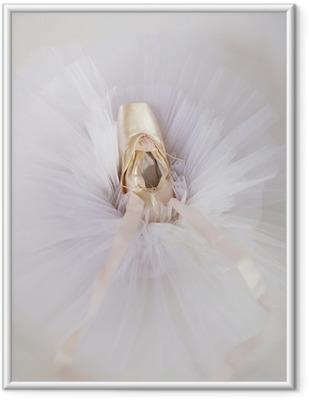 ballet shoes 1 Framed Picture