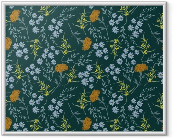 Image encadrée prairie verte - Nina Ho - Artistes contemporains