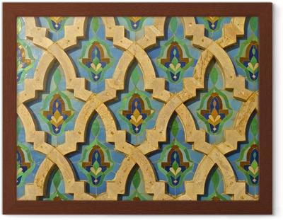 Poster piastrelle marocchina u pixers viviamo per il cambiamento