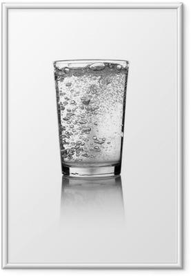 Immagine in Cornice Bicchiere d acqua