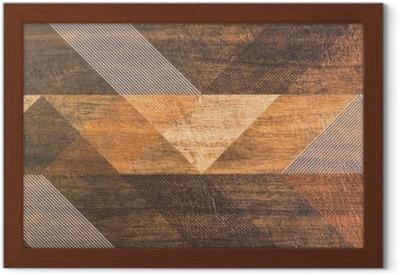 Quadro su tela piastrelle con forme geometriche u pixers