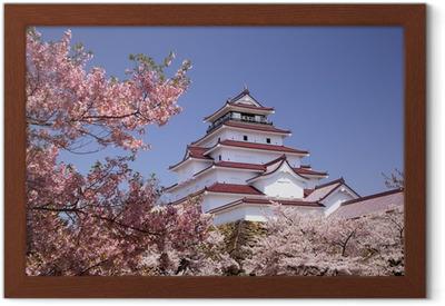 eea6cf7e3 ole walter sundlo Aizuwakamatsu Castle og kirsebærblomst